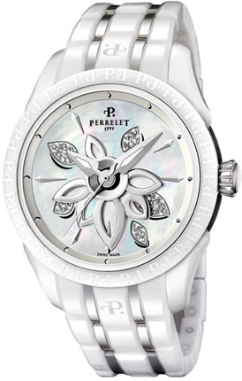 Perrelet A2039/A Double Rotor Diamond Flower Ceramic
