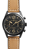 Bell & Ross Vintage Chronograph BR 126 Heritage PVD Steel Black