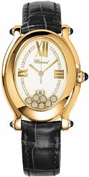 CHOPARD. Style #: 277000-0007. Happy Sport Oval. Золото 18 карат.