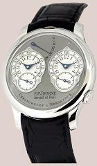 FP Journe. Style # : FPJ-09.06.10.   Chronometre Resonance - 2 Time Zones. Платина.