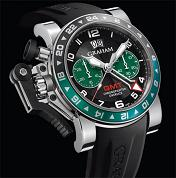GRAHAM. Style # : 20VGS.B12A.K10B. CHRONOFIGHTER OVERSIZE GMT