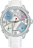 Jacob & Co JC-M24da 2.00 carat bezel Five Time Zone - 40mm, 2ct Bezel