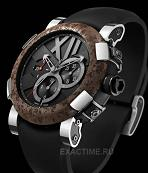 Romain Jerome. Style # : Titanic DNA EXTRIM СH.T.OXY3.11BB.00.BB.  Rusted Steel T-Oxy III  Лимитированный выпуск 2012 шт.!!!