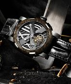 Romain Jerome.Style # :Titanic DNA Tourbillon. STEEL EXTREME. TO.T.OXY3.11BB.00.BB. Rusted Steel T-Oxy III Лимит = 9 шт.!!