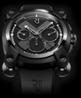 Romain Jerome RJ.M.CH.IN.001.01 Moon Invader Black Metal Chronograph.Лимитированный выпуск=1969 шт.
