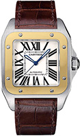 Cartier Santos 100 Large Mens W20072X7